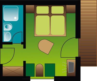 Room plan comfort room